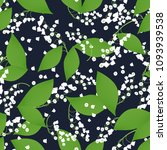 seamless pattern with vector... | Shutterstock .eps vector #1093939538