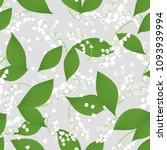 seamless pattern with vector... | Shutterstock .eps vector #1093939994