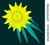creative flower stylization....   Shutterstock .eps vector #1093940960
