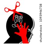 psychological child...   Shutterstock . vector #1093946738