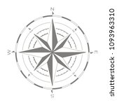 vector compass rose for your... | Shutterstock .eps vector #1093963310