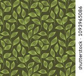 wrapping tea leaves pattern... | Shutterstock .eps vector #1093965086