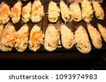 shellfish grilled cheese | Shutterstock . vector #1093974983