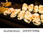 shellfish grilled cheese | Shutterstock . vector #1093974986