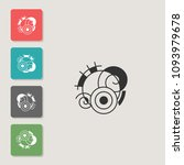 abstraction   vector icon....