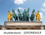 entablement and quadriga of... | Shutterstock . vector #1093983419