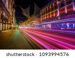 motion speed light in london... | Shutterstock . vector #1093994576