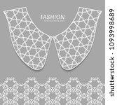 vector fashion background.... | Shutterstock .eps vector #1093998689