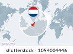 world map centered on america... | Shutterstock .eps vector #1094004446