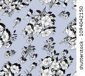 seamless floral pattern in... | Shutterstock .eps vector #1094042150