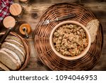 bigos   stewed cabbage with... | Shutterstock . vector #1094046953