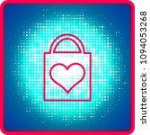 flat icon. shopping bag. | Shutterstock .eps vector #1094053268