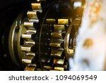 close up internal engine gear... | Shutterstock . vector #1094069549