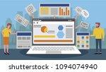 web business technology | Shutterstock .eps vector #1094074940