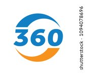 360 degrees consulting and... | Shutterstock .eps vector #1094078696
