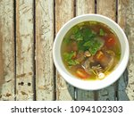 delicious dish cooked with... | Shutterstock . vector #1094102303