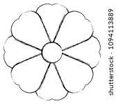 beautiful flower decorative icon | Shutterstock .eps vector #1094113889