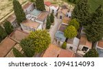 aerial view of a small... | Shutterstock . vector #1094114093