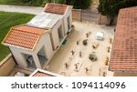 aerial view of a small... | Shutterstock . vector #1094114096