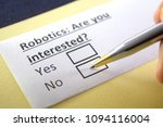 robotics  are you interested ... | Shutterstock . vector #1094116004