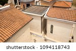 aerial view of a small... | Shutterstock . vector #1094118743