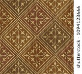 carved geometric pattern on... | Shutterstock . vector #1094123666
