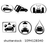 vector illustration of six car... | Shutterstock .eps vector #1094128340