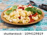 traditional pasta with cottage... | Shutterstock . vector #1094129819