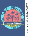 summertime makes me happy icon... | Shutterstock .eps vector #1094130776