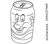 coloring page. coloring book.... | Shutterstock .eps vector #1094157989