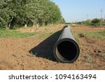 new pipeline of propylene dn 350 | Shutterstock . vector #1094163494