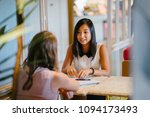 portrait of a young  asian... | Shutterstock . vector #1094173493