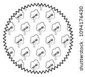 trees pattern design | Shutterstock .eps vector #1094176430