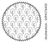 trees pattern design   Shutterstock .eps vector #1094176433