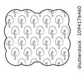trees pattern design   Shutterstock .eps vector #1094176460