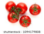 fresh tomatoes isolated on... | Shutterstock . vector #1094179808