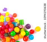 colorful candy on white   Shutterstock . vector #1094193638