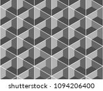geometric pattern gray color... | Shutterstock .eps vector #1094206400