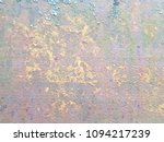 rusted steel plate. the rusted... | Shutterstock . vector #1094217239