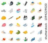 best body icons set. isometric... | Shutterstock . vector #1094229020