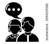 people conversation icon.... | Shutterstock . vector #1094229200