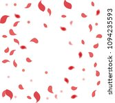 abstract flower petals confetti ... | Shutterstock .eps vector #1094235593