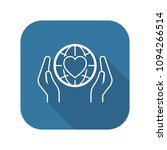 global health assistance icon.... | Shutterstock .eps vector #1094266514