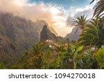stunning landscape mountain...   Shutterstock . vector #1094270018