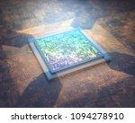 3d illustration. microprocessor ... | Shutterstock . vector #1094278910