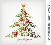 christmas background | Shutterstock .eps vector #109429478