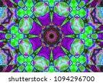 decorative fantasy   flower... | Shutterstock . vector #1094296700