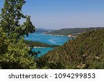 lake side holiday sainte croix | Shutterstock . vector #1094299853