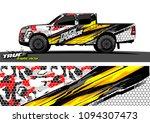 truck wrap design vector....   Shutterstock .eps vector #1094307473