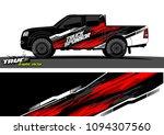 truck wrap design vector.... | Shutterstock .eps vector #1094307560